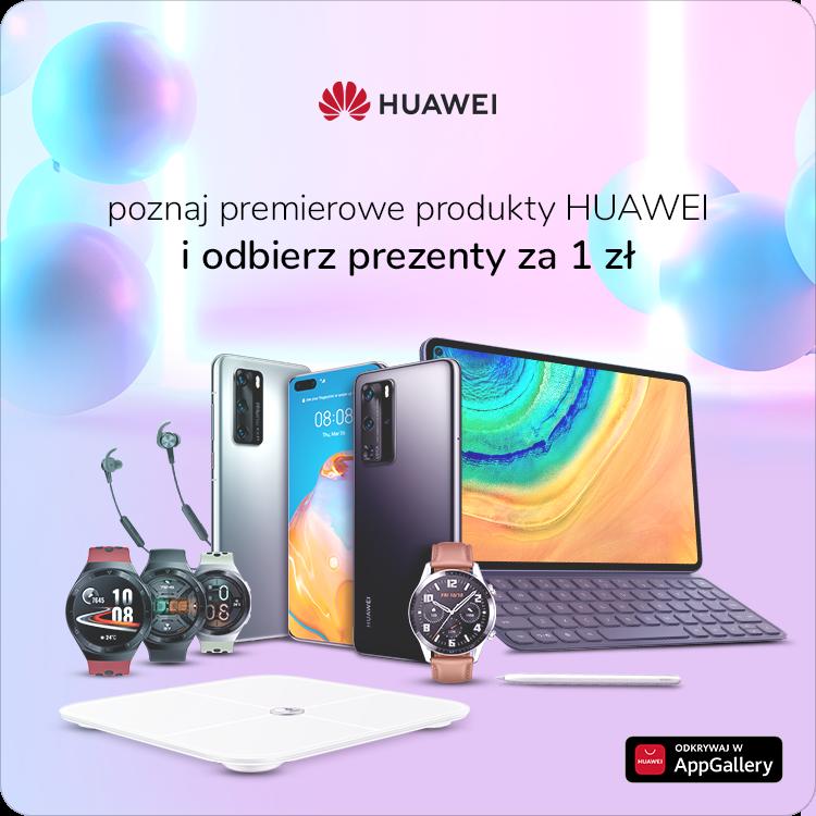 premiera Huawei P40 P40 Pro MediaPad Pro Huawei Watch GT 2e