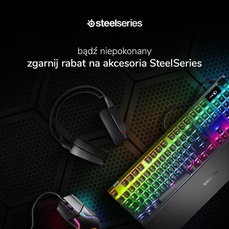Promocja na akcesoria SteelSeries