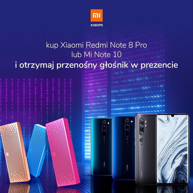 Promocja Xiaomi z przenośnym głośnikiem