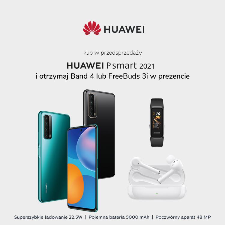 Przedsprzedaż  Huawei P smart 2021