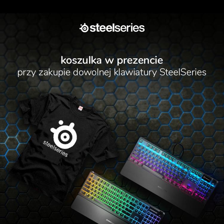 Wybierz klawiaturę SteelSeries i otrzymaj w prezencie koszulke