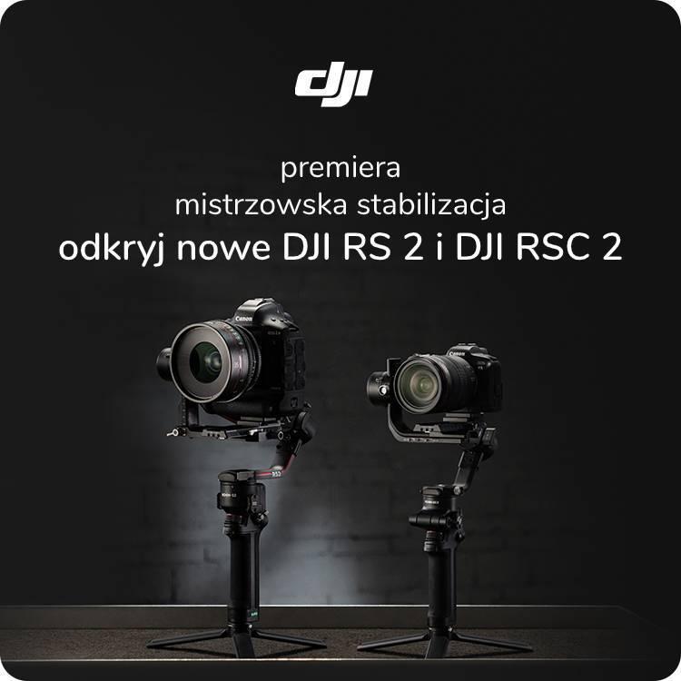 DJI RS 2 i RSC 2 premiera