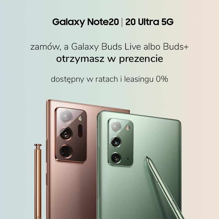 Przedsprzedaż Samsung Galaxy Note20 - x-kom
