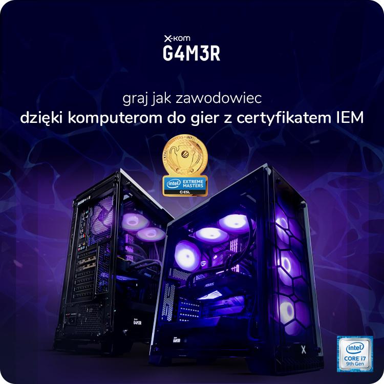Komputery GAMER z certyfikatem IEM