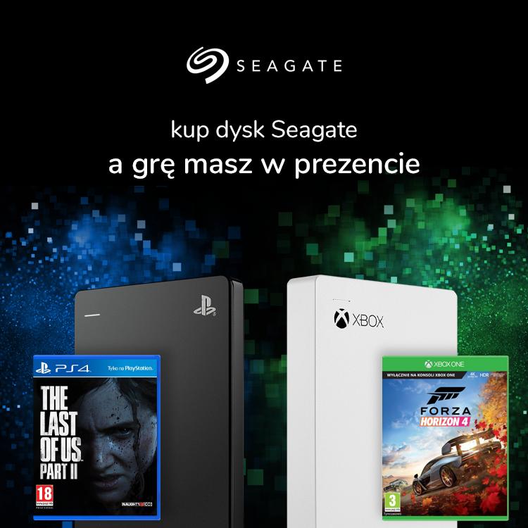 Wybierz dysk Seagate i otrzymaj grę w prezencie