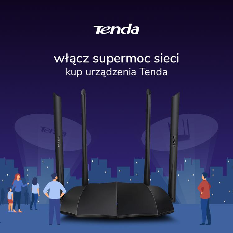 Urządzenia sieciowe marki Tenda – AC21, AC8, MW5C