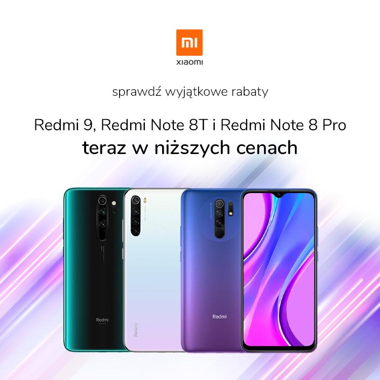 promocja na smartfony Xiaomi