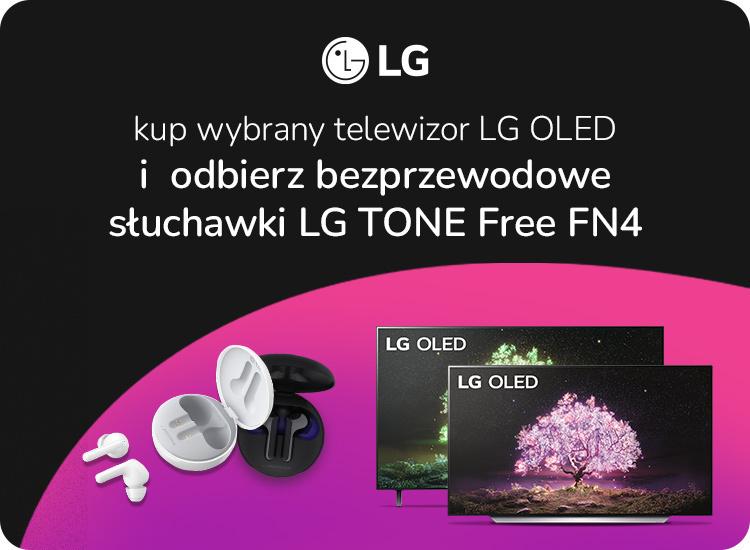 Promocja LG TV z gratisem