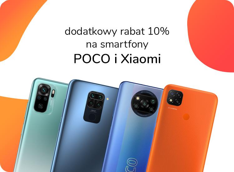 Smartfony Xiaomi i POCO taniej 10%