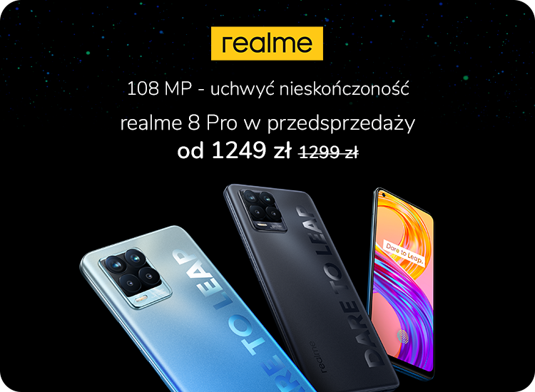 przedsprzedaż realme 8 Pro