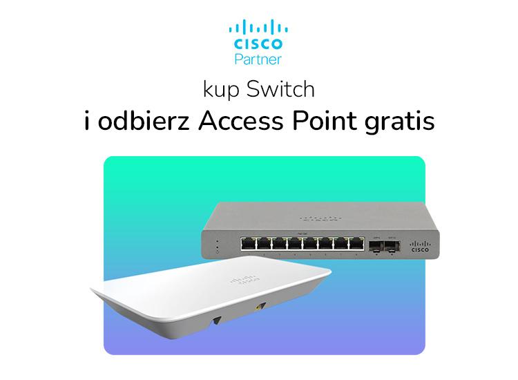 Cisco Meraki Go promocja switch AP