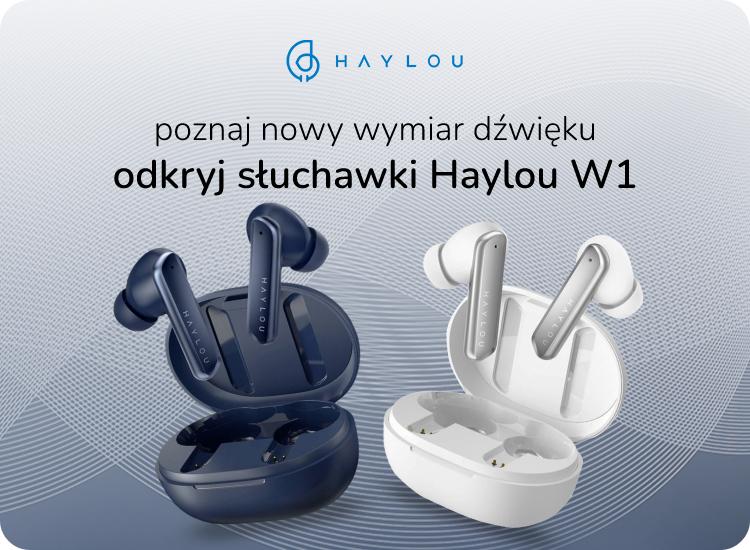słuchawki haylou w1 tws