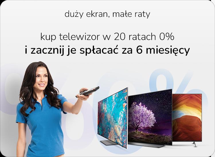 telewizory w ratach 0%