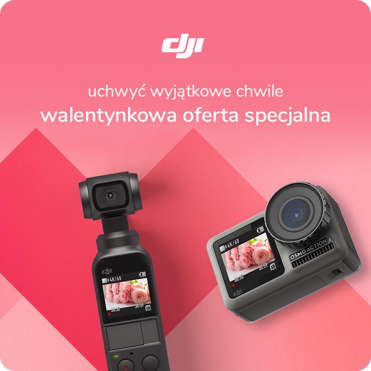 Kamery DJI w walentynkowej promocji