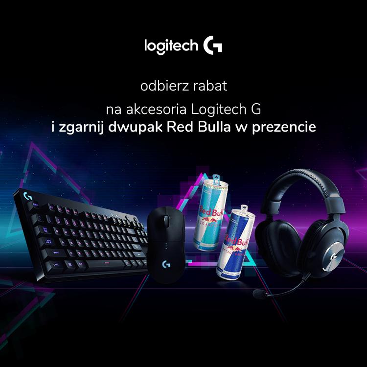 Promocja Logitech i Redbull