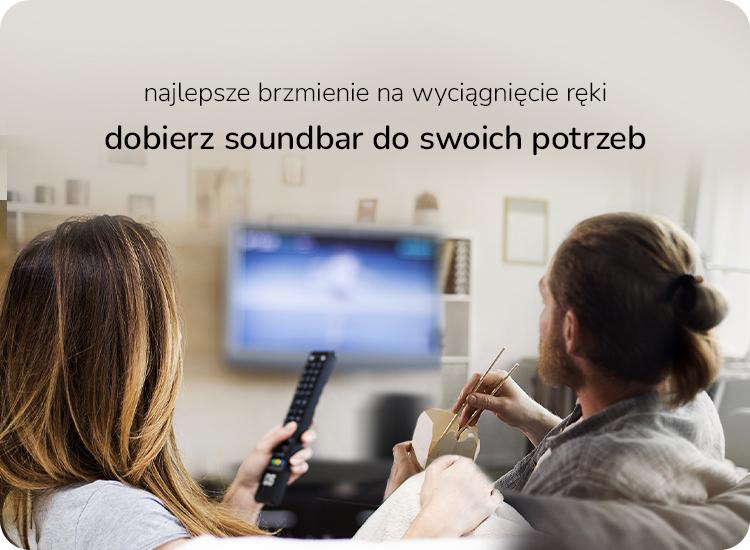 sprawdź konfigurator i dobierz soundbar idealny dla siebie