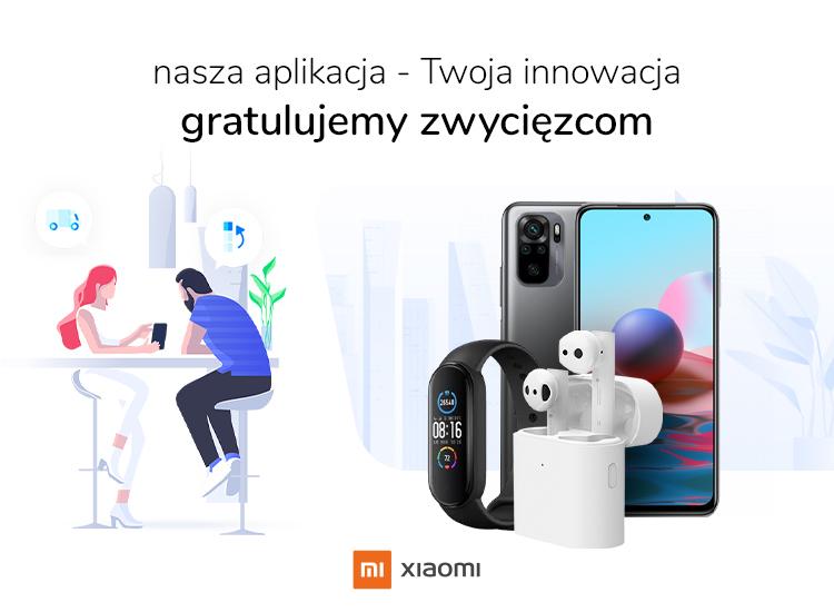 nasza aplikacja Twoja innowacja gratulujemy