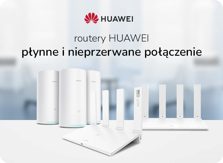 poznaj routery Huawei