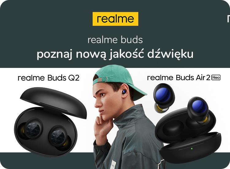 realme buds q2 i realme buds air 2 neo w x-komie