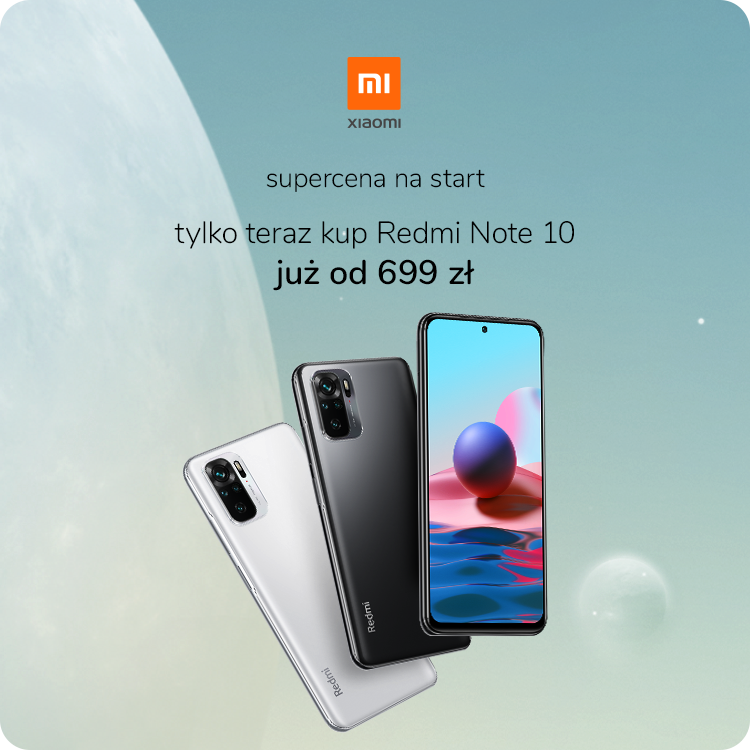 Przedsprzedaż Xiaomi Redmi Note 10 x-kom