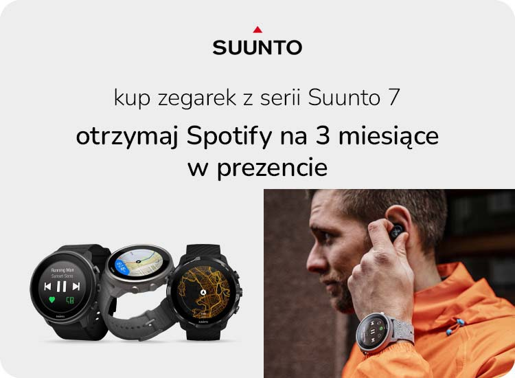 Suunto 7 promocja Spotify