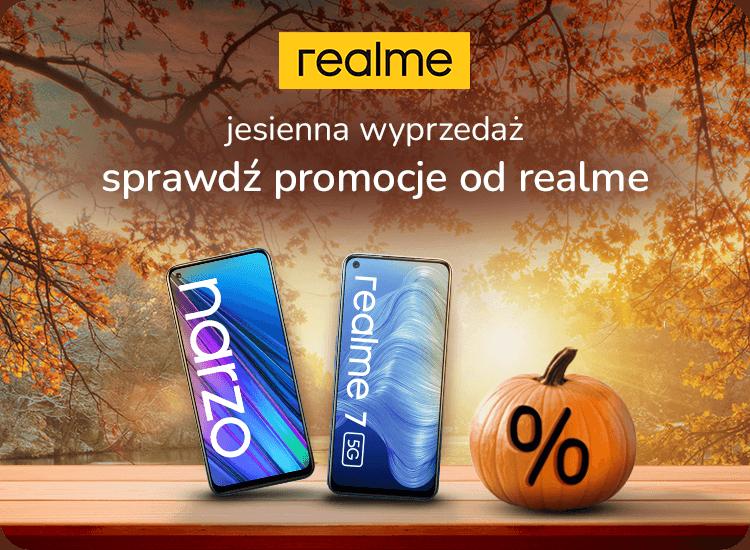 jesienna wyprzedaż realme smartfony taniej nawet 400 zł