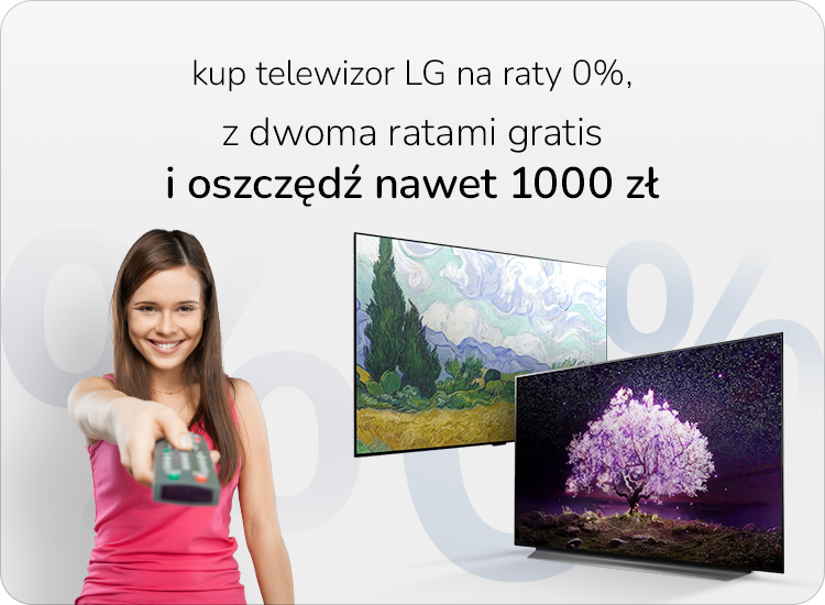 LG OLED raty zero procent