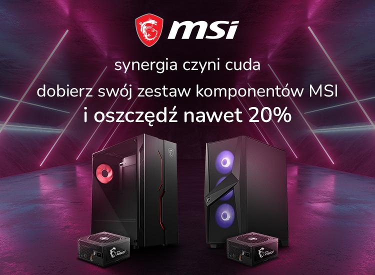 Promocja MSI komponenty