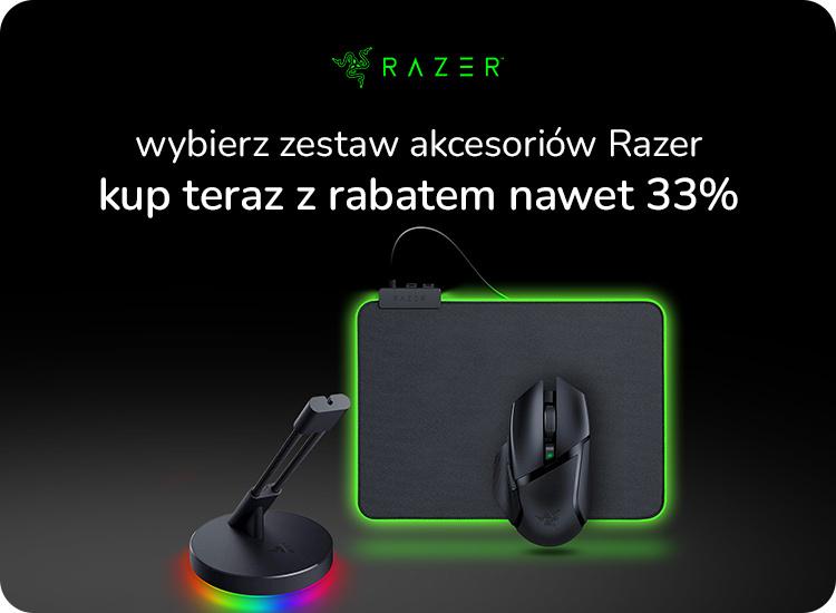 promocja na zestaw akcesoriów Razer