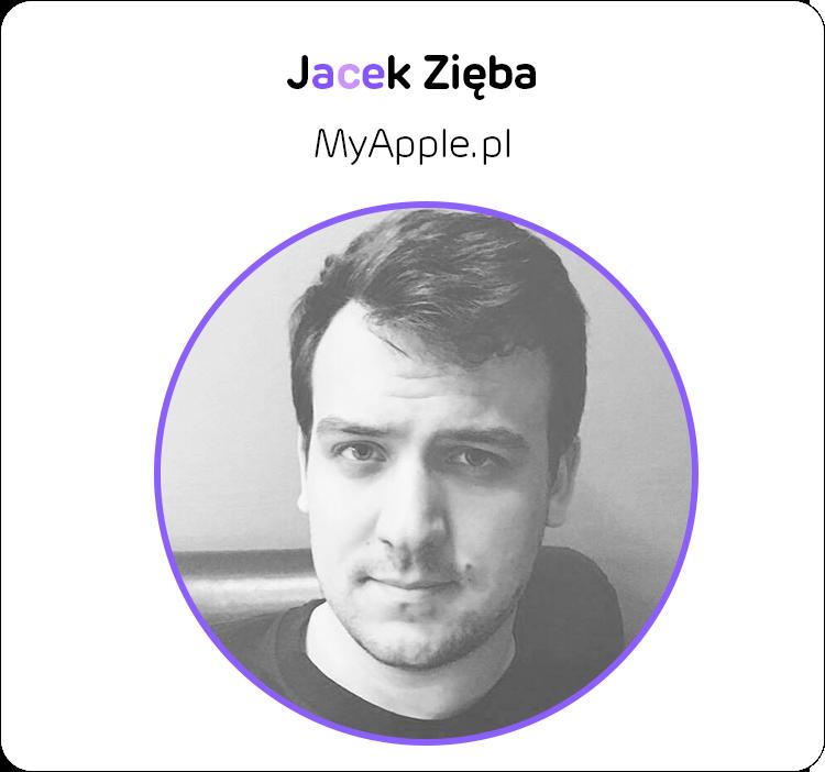 Jacek Zięba z MyApple.pl