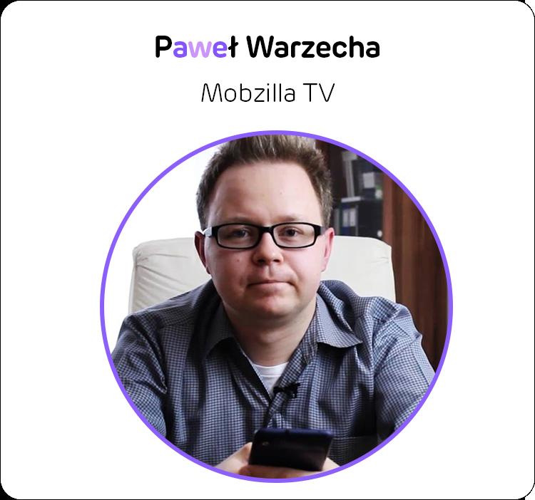 Paweł Warzecha z Mobzilla TV