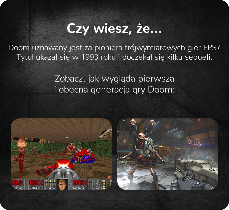 Doom 1993 vs Doom 2016