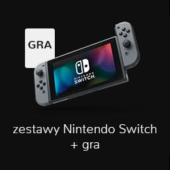 Zestaw konsola Nintendo i gra