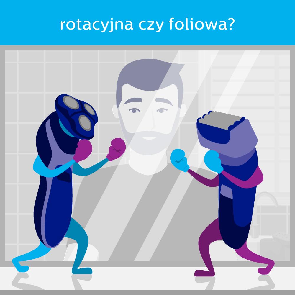 golarka foliowa czy rotacyjna?