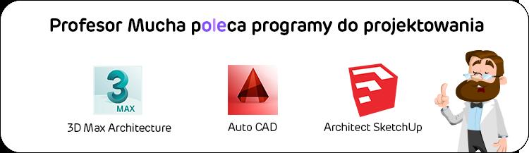 Polecane programy do projektowania