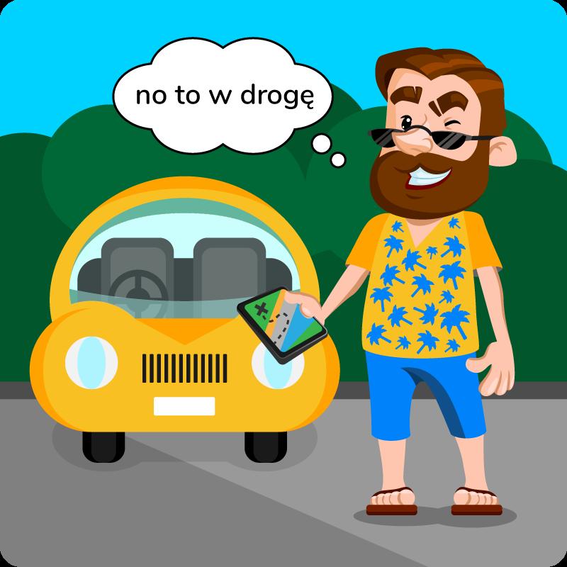 gadżety dla kierowcy na wakacje