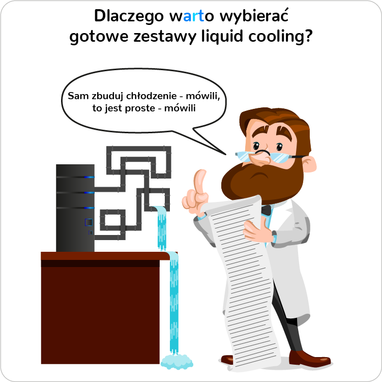 Dlaczego warto kupować gotowe zestawu chłodzenia wodnego PC