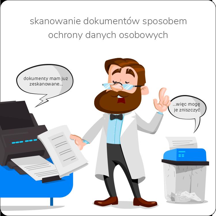 digitalizacja dokumentów i ich niszczenie