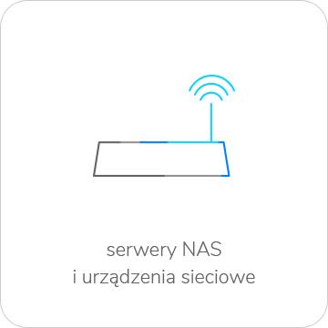 urządzenia sieciowe i serwery NAS do RODO