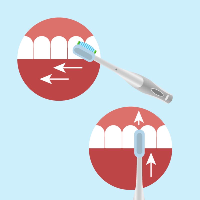 technika-mycia-zębów-szczoteczką-soniczną