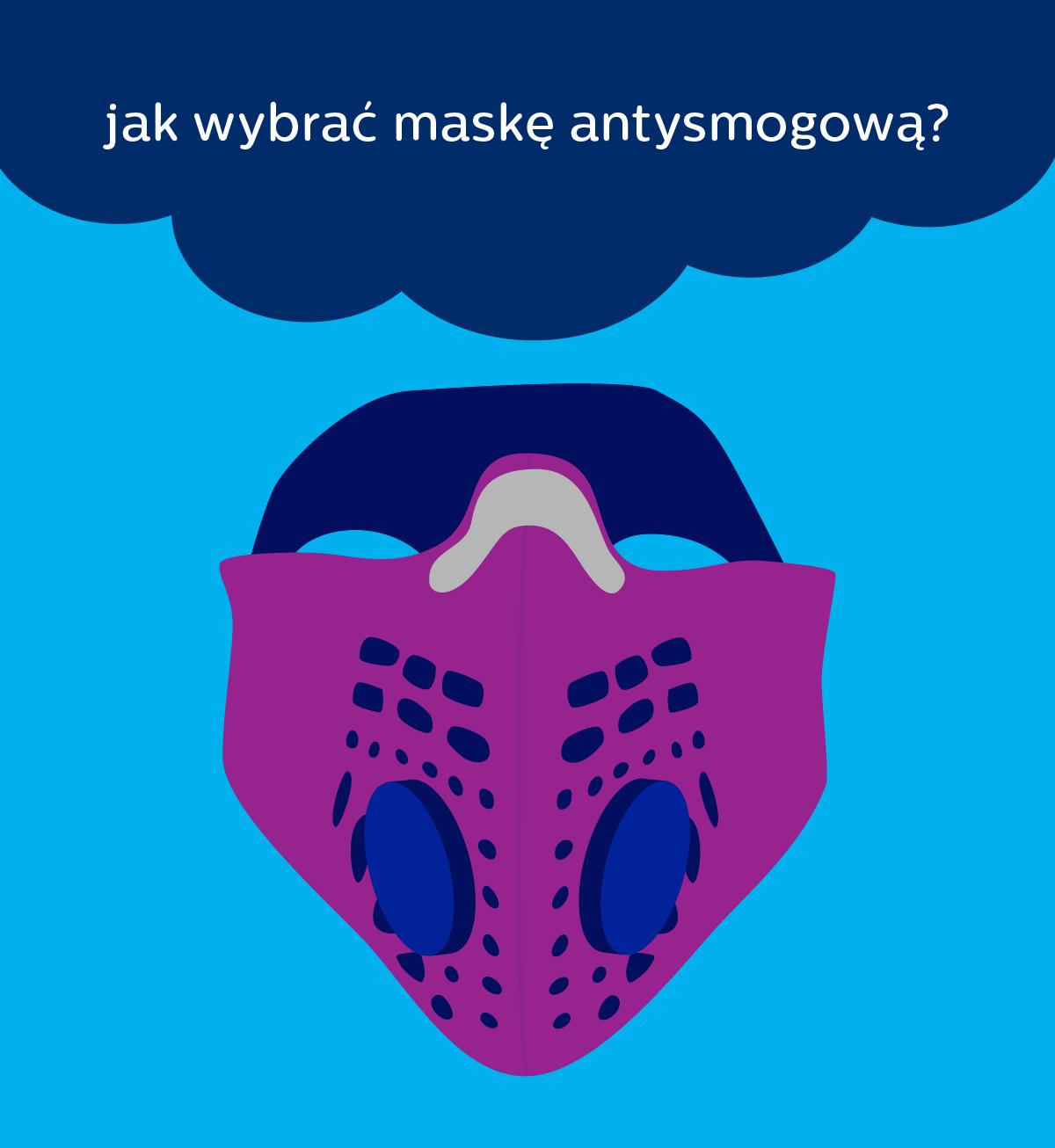 Jak wybrać maskę przeciwsmogową?