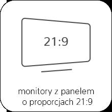 monitory o proporcjach ekranu 21:9