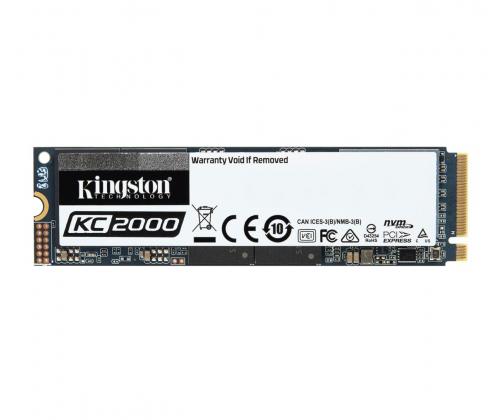 Kingston 500GB M.2 2280 KC2000 NVMe PCIe