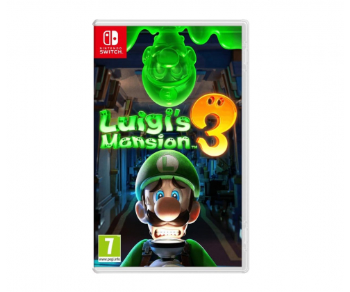 Luigi's Mansion 3 okładka
