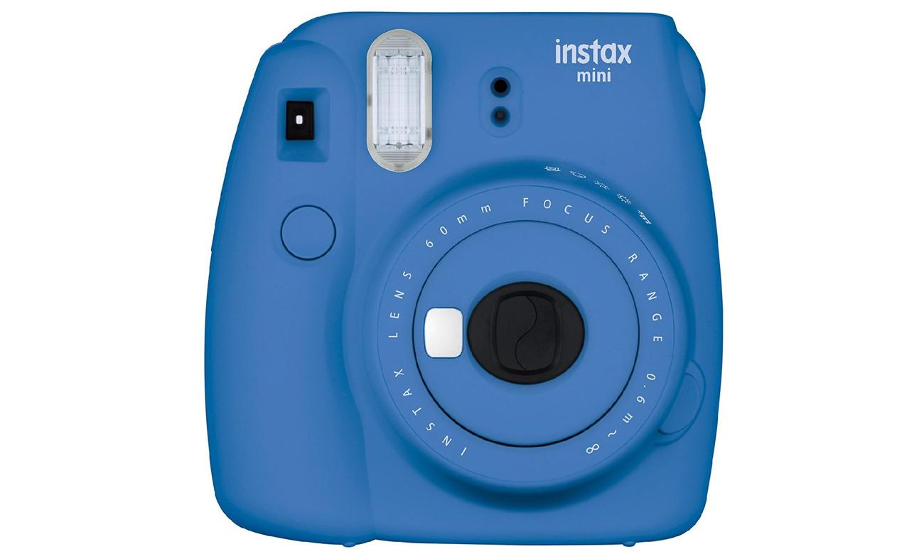 Fujifilm Instax Mini 9 ciemno-niebieski + 10PK + pokrowiec