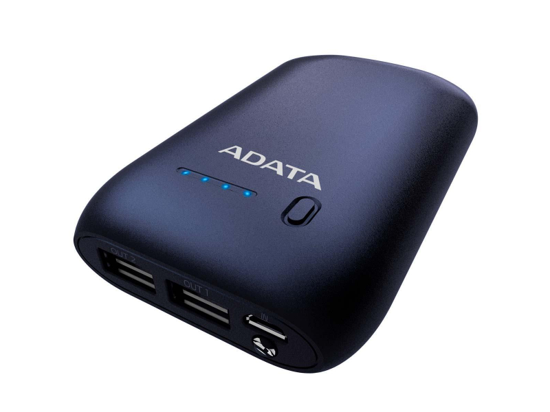 ADATA Power Bank P10050 10050 mAh 2.4A (granatowy)