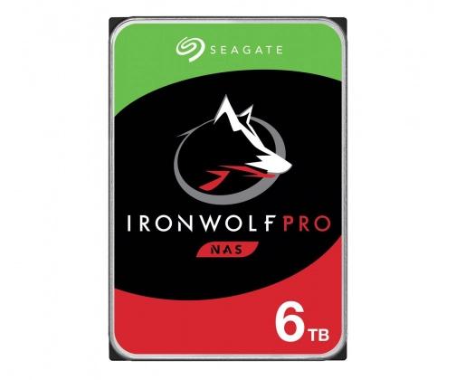 Seagate 6TB 7200obr. 256MB IronWolf Pro