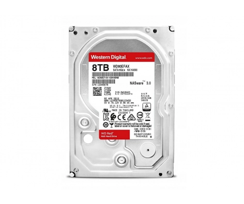 WD 8TB 256MB Red NAS