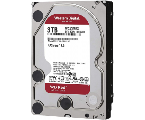 WD RED 3TB IntelliPower 64MB