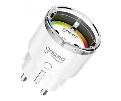 Gosund SP111 bezprzewodowe z miernikiem energii
